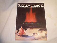 Road & Track magazine May 1958