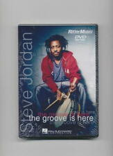 Steve Jordan - The Groove Is Here *New* Drum Dvd Drums