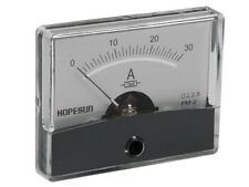 "VELLEMAN AIM6030A ANALOG CURRENT PANEL METER 30A DC / 2.4"" x 1.9"""