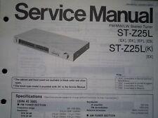 TECHNICS ST-Z25L SINTONIZZATORE STEREO ST-Z25LK Manuale di servizio diagramma di cablaggio parti