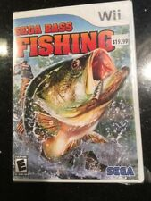 Sega Bass Fishing (Nintendo Wii, 2008) Brand New and Factory Sealed