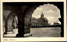 Gotha Thüringen s/w Postkarte  ~1940 Durchblick auf den Schloßhof Schloss Castle