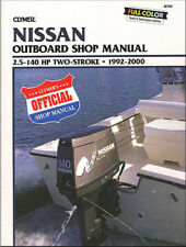CLYMER NISSAN 5 HP TWO STROKE OUTBOARD SHOP SERVICE REPAIR MANUAL 1992-2000