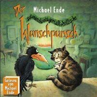 MICHAEL ENDE - DER WUNSCHPUNSCH-TEIL 1; CD 10 TRACKS KINDERHÖRSPIEL/LESUNG  NEU