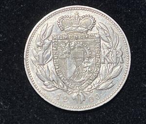 Moneta Liechtenstein: 1 KR 1900 #8 (Argento)