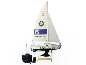 """25"""" RC Remote Control 4 Channels Sailboat 120SH Motor -BMW Sailing Cup"""