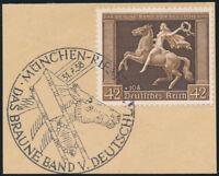 DR 1938, MiNr. 671 y, Luxusbriefstück, Kurzbefund Schlegel, Mi. 60,-