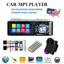 HD Single DIN Car Stereo Video MP5 MP3 Player Bluetooth FM Radio AUX USB SD TF