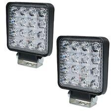 16 led Strobe & Flood light 48 Watt Slimline Light Idea for Tractor Forklift ETC