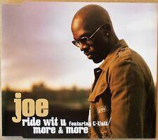 Joe feat. G-Unit - ride wit u - Single-CD neu