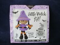 Hooked Little Witch Crochet Kit for Junior Crafters New Sealed