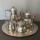 A silver plated Art Nouveau 5-piece tea/ coffee set by' Plata Lappas'