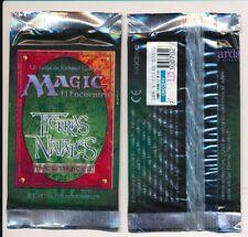 MTG Magic Tierras Natales 1995 Original Spanish Booster Packs Factory X2