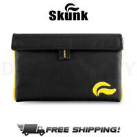 "Skunk Mr Slick 8"" Odor Proof Smell Proof Stash Bag - Yellow"