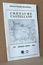 Cronache Castellane 150 gennaio marzo Istituto Italiano dei castelli