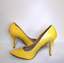 Delicious Yellow High Heel Pumps Size 11