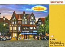 Vollmer 43841 Fotohaus mit Inneneinrichtung