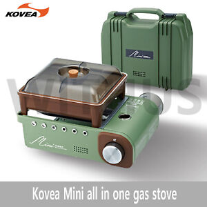 Kovea Retro All in one System Cooking Mini Gas Stove for Camping(KGG-1805)