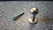 1 x Möbelknopf Durchmesser Ø 15 mm, nickelmatt