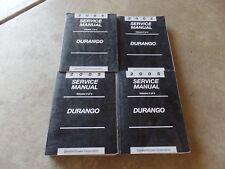 2005 Dodge Durango Factory Service Manuals OEM