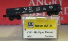 z scale micro trains  NYC MICHIGAN CENTRAL GONDOLA MINT IN BOX