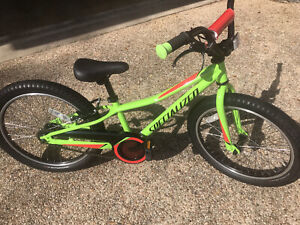 Specialized Riprock Coaster 20 Childrens Kids Bike Neon Green Bicycle EXCELLENT