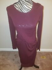 TOPSHOP LONG SLEEVE FITTING DRESS $58.00