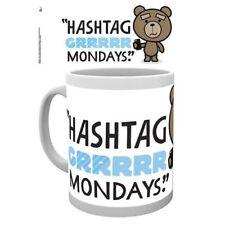 Tazza - Tazza - Ted 2 - Hashtag Grrrrr lunedì - ceramica Tazza NUOVO/ORIGINALE