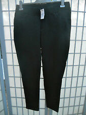 BN Pumpkin Patch Ladies Patch Maternity Black Knit Jeggings Pants Size L     NWT