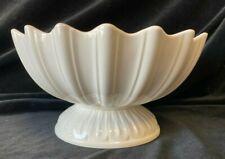 More details for large hartley greens &co leedsware pottery pedestal fruit salad bowl centrepiece