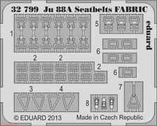 Eduard 1/32 Junkers Ju 88 Seatbelts Fabric # 32799