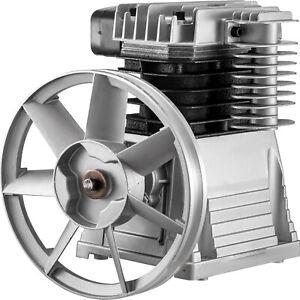 VEVOR 2.2KW Bomba de compresor de aire 11 bar con Cilindros Dobles 1300 RPM