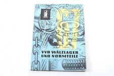 ancien catalogue VVB Les roulements à rouleaux & Pièces standard
