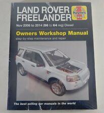 Reparaturanleitung Land Rover Freelander 2WD 4x4  2, 2 Liter Diesel, Nov. 06-14