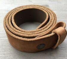 """Wechselschnallengürtel """"Umjubelt"""" Farbe: Beige Länge 90 cm, 95 cm Ledergürtel"""