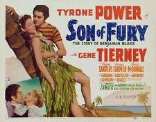 son of fury dvd