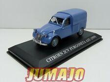 VA4 voiture 1/43 IXO altaya : CITROEN 2CV Furgoneta AZU 1959