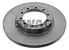 SWAG Brake Disc Rear Axle x2 pcs Fits FORD Transit Flatbed 1488311