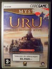 Uru Ages Beyond Myst Nuevo precintado PC Gran aventura acción en castellano
