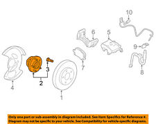 GM OEM Brake-Front-Wheel Hub & Bearing 13507374