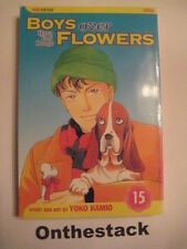 MANGA:    Boys over Flowers (Hana Yori Dango) Vol. 15 by Yoko Kamio (2005)