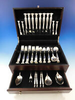 Romance of the Sea by Wallace Sterling Silver Flatware Set Service 52 Pieces