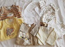 💓💓Frühgeborene Babykleidung paket 9tlg. 42 46 50 unisex neutral Frühchen💓💓