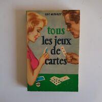 Tous les jeux de cartes 1958 Luc MEGRET OMNIA Paris édition GARNIER frères N4815