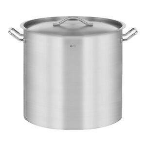 Kochtopf Induktion 70 Liter Kochtopf + Deckel Suppentopf Rostfrei Topf Eintopf