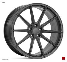 "19"" ISPIRI FFR1 Wheels - Carbon Graphite - VW / Audi / Mercedes - 5x112"