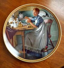 "Norman Rockwell ""Working in the Kitchen"""