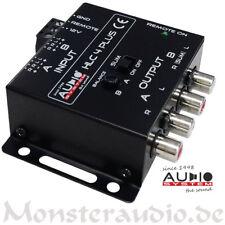 AUDIO SYSTEM HLC4 PLUS 4-Kanal High-Low-Level-Adapter-Converter Autoradio Remote