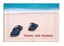 Caravan or Motorhome Owners, Travel Record Log & Journal - Flip Flops & Beach D6