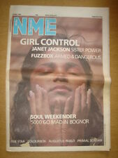 NME 1986 MAY 24 HOLLYWOOD GIRL CONTROL FIVE STAR SHAW JANET JACKSON